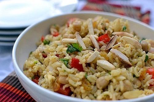 Curried Brown Rice Salad