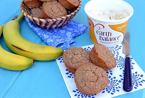 Banana- Wheat Germ Muffins