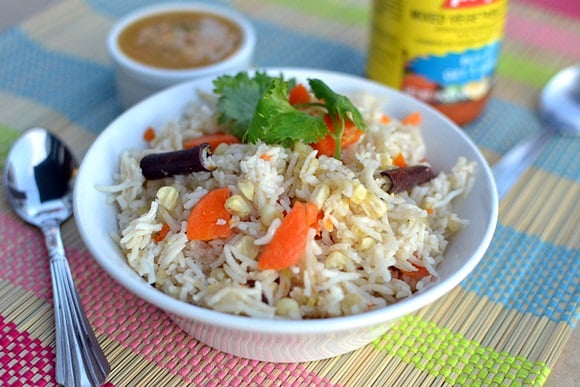 Corn & Carrot Rice