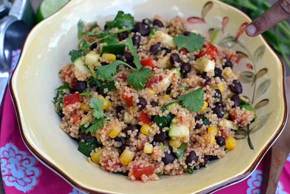 South Western Couscous Salad