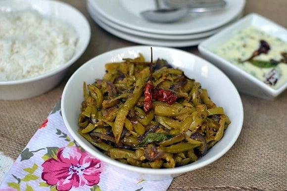 Dondakaya Kura (Spicy Ivy Gourd Curry)