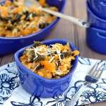 Baked Risotto with Butternut Squash & Kale