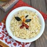 Sesame Rice (Nuvvulannam/ Ellu Saadam)