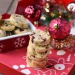Fruit & Nut Cookies (Pistachio-Cranberry Shortbread Cookies)