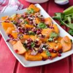 Persimmon and Nuts Salad