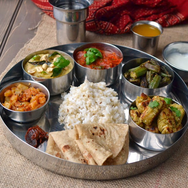 Gujarat -- Mini Thali