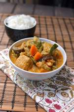 Vegetarian Curry with Coconut Milk