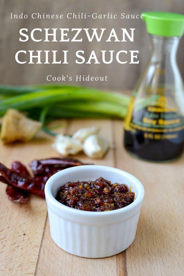 Schezwan Chili-garlic sauce