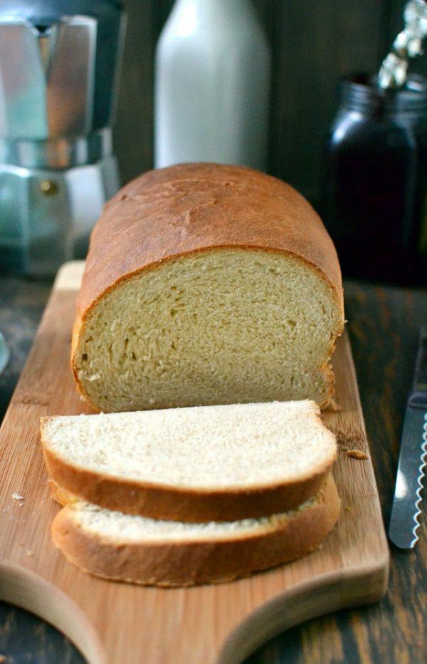 Eggless Ricotta Loaf