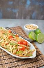 Thai Green Papaya Salad (Vegan Recipe)