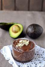 Banana Avocado Chocolate Pudding