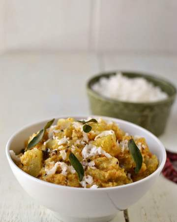 Bottle gourd/ Lauki Coconut Curry