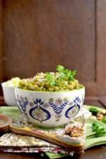 Healthy Cilantro Rice (with Brown rice)