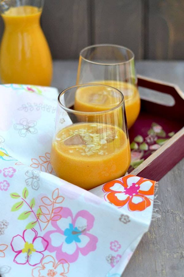 Mango Almond Smoothie