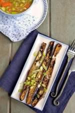 Nasu Dengaku (Japanese Eggplants broiled with Miso)
