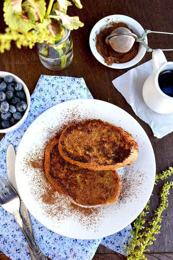 Vegan Banana Rabanada (Brazilian French Toast)