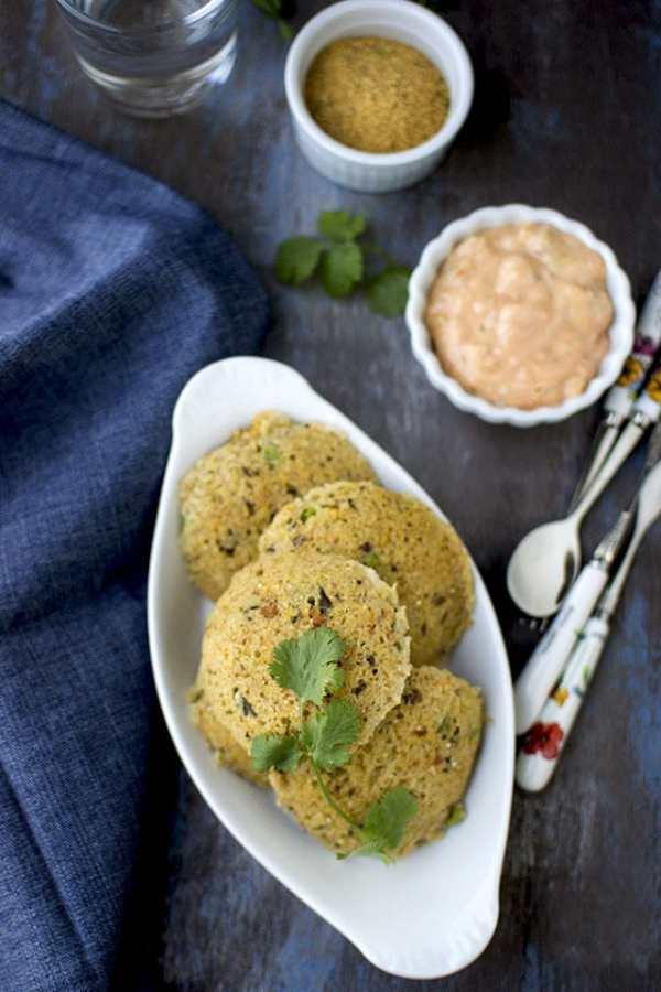 Quinoa Oats Idli