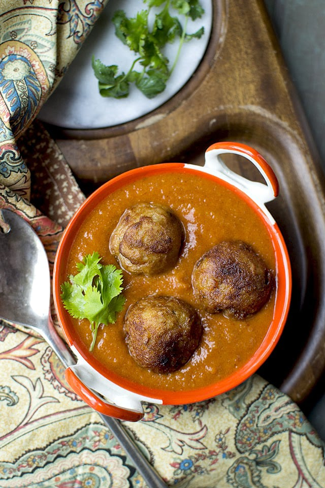 Enchor kofta bengali jackfruit kofta curry recipe cookshideout forumfinder Gallery