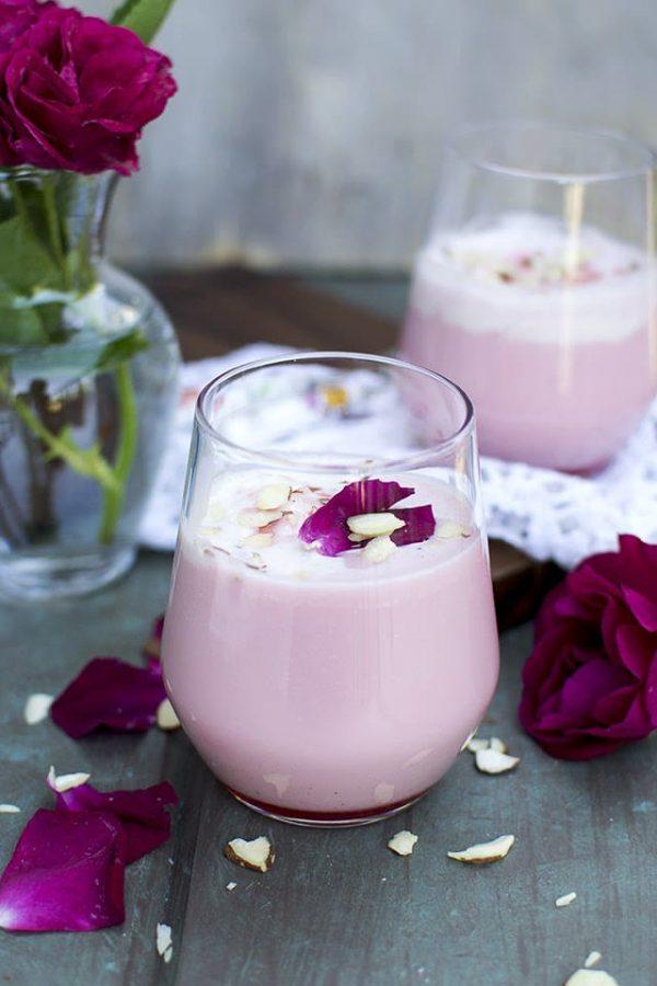 Rose Milk shake