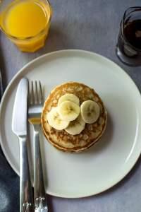 Pancakes with Ancient grains flour blend