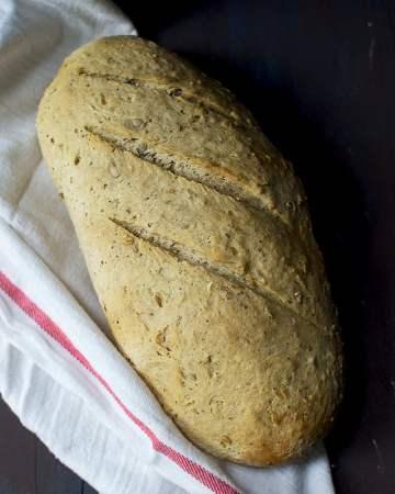 Sourdough Bread with Ancient Grains flour