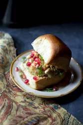 Potato Pav Sandwich