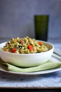 Quinoa salad with Pesto