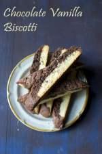 Chocolate Vanilla Biscotti