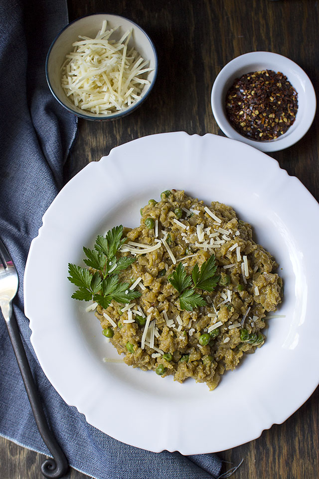 Risotto with Cauliflower