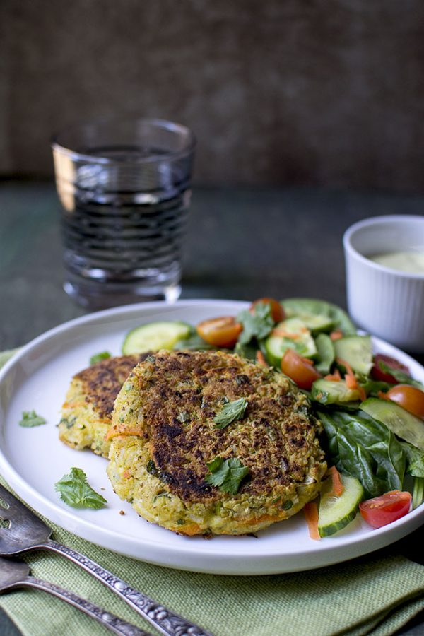 Curry Chickpea Burger Recipe (Vegetarian)