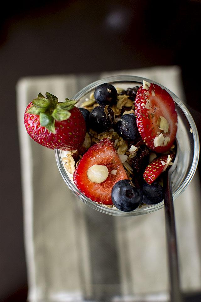 Granola Berry Parfait