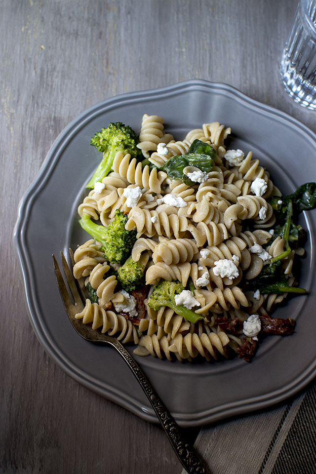 Pasta Salad with Goat Cheese