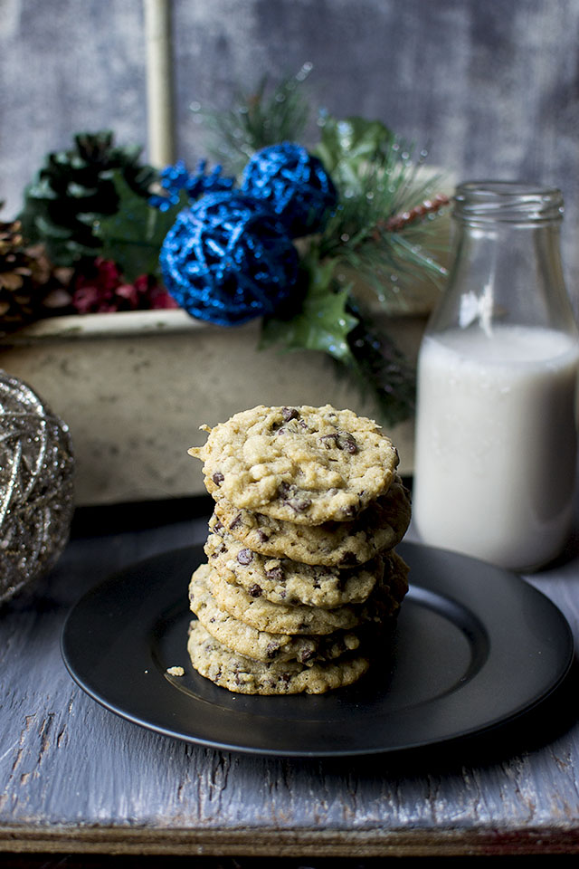 Chocolate Chip Cookies with Oats