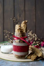 Maple Oat Craberry Biscotti