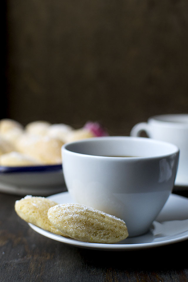 Madeleines with Lemon