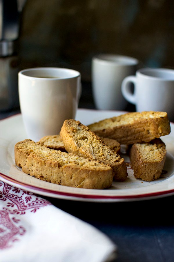 Mini Almond Biscotti