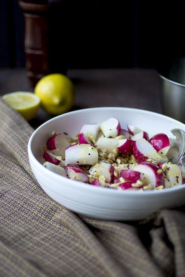 Radish and Peanut Salad Recipe | Cook's Hideout