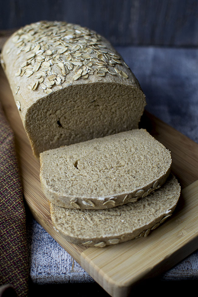 Wholewheat Bread with White Beans