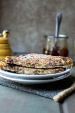 Grilled Goat Cheese Sandwich with Fig and Honey Recipe