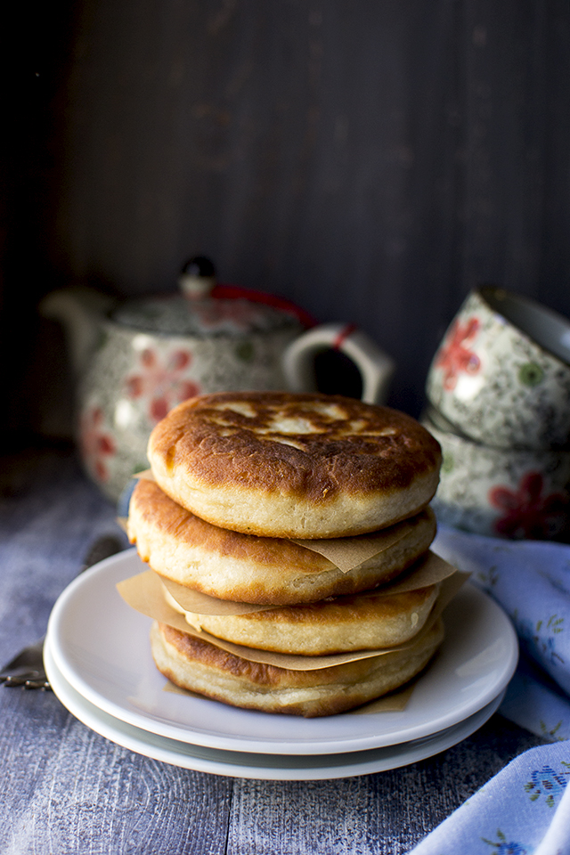 Hotteok (Stuffed Korean Pancakes) Recipe for #BreadBakers