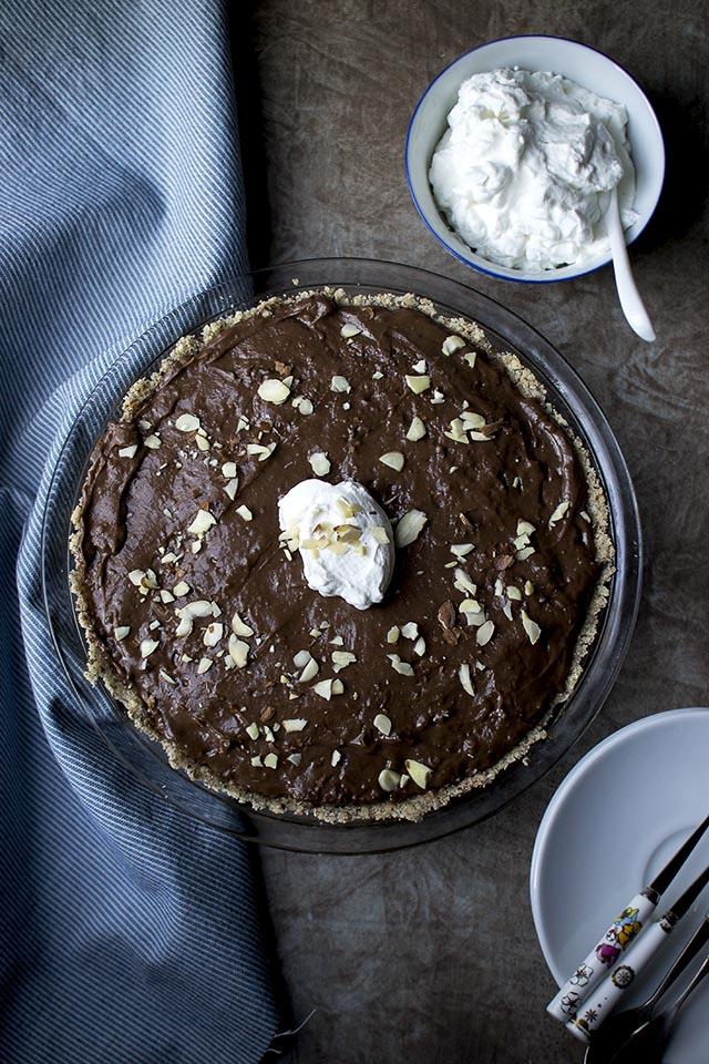No-Bake Mocha Cream Pie