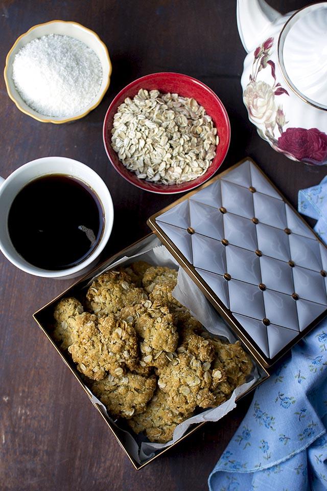 Australian Anzac Cookies Recipe