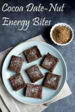Cocoa Dates-Nut Energy Bites