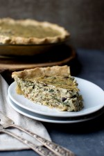 Caramelized Onion & Spinach Quiche