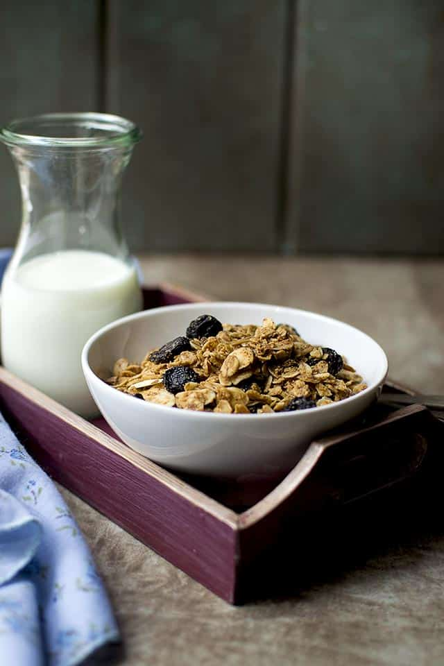 Granola with Almond Butter & Coconut Oil