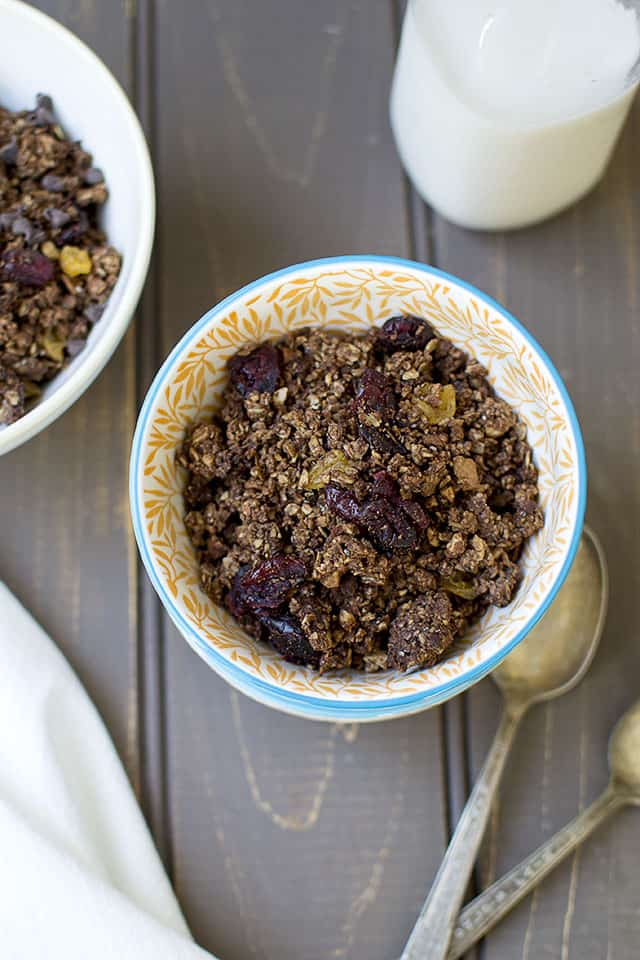 Vegan Chocolate Granola