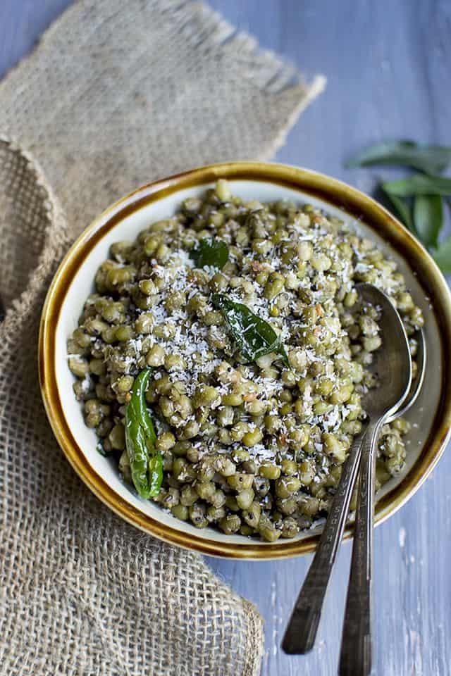 Vegan Mung Bean Salad