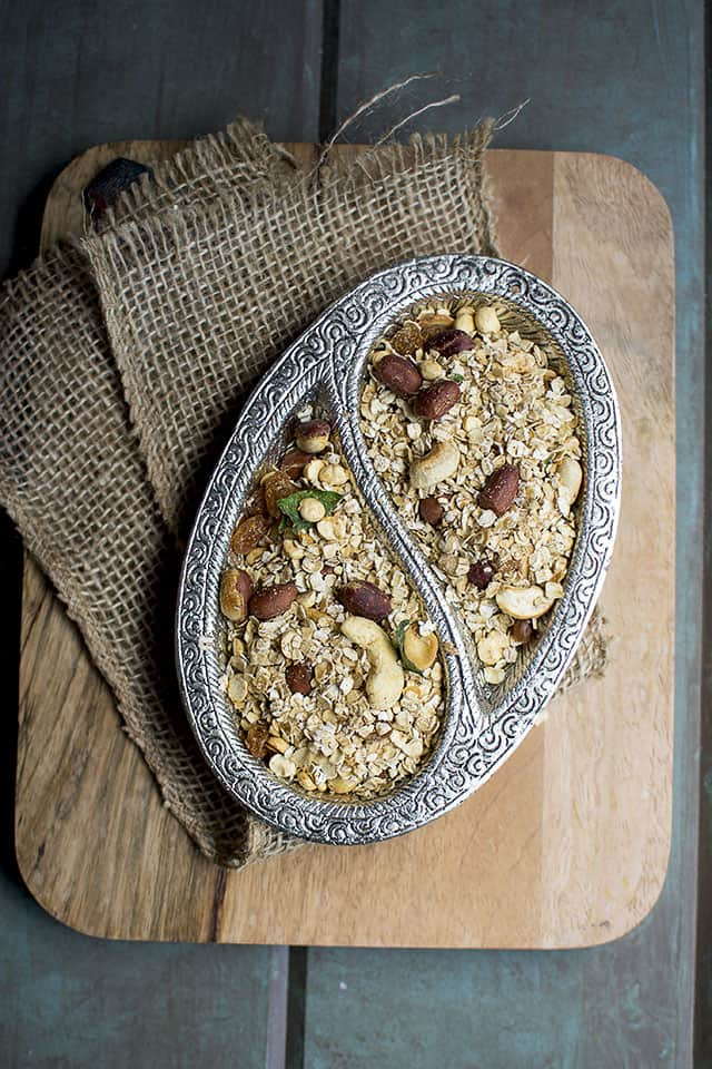 Chiwda with Oats