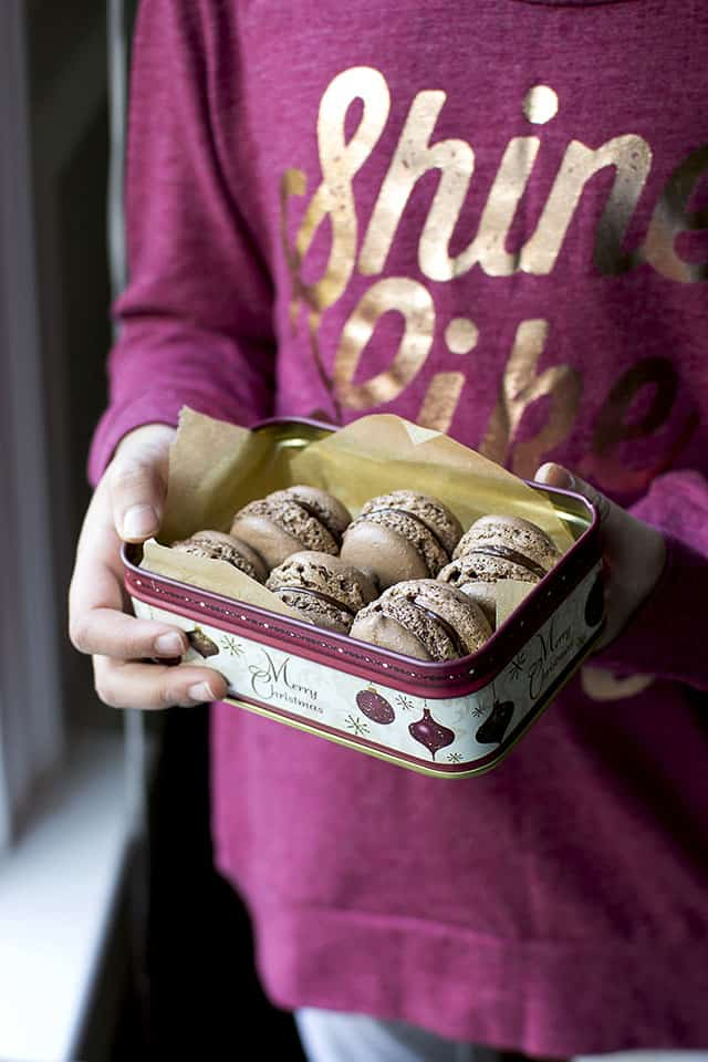 Easy Chocolate Macarons Recipe