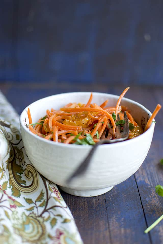 Moroccan Carrot Salad - Vegan Recipe